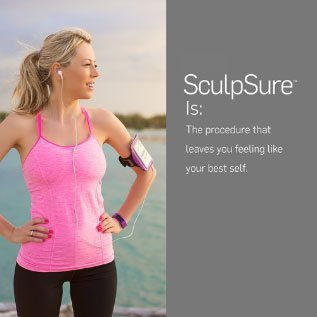 SculpSure leaves you feeling like your best self