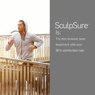 SculpSure Is the non-invasive laser treatment with over 90% satisfaction rate